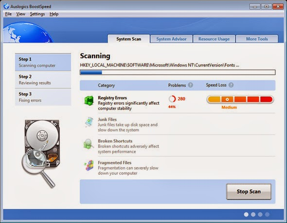 Auslogics BoostSpeed v6.4.1.0 Full İndir
