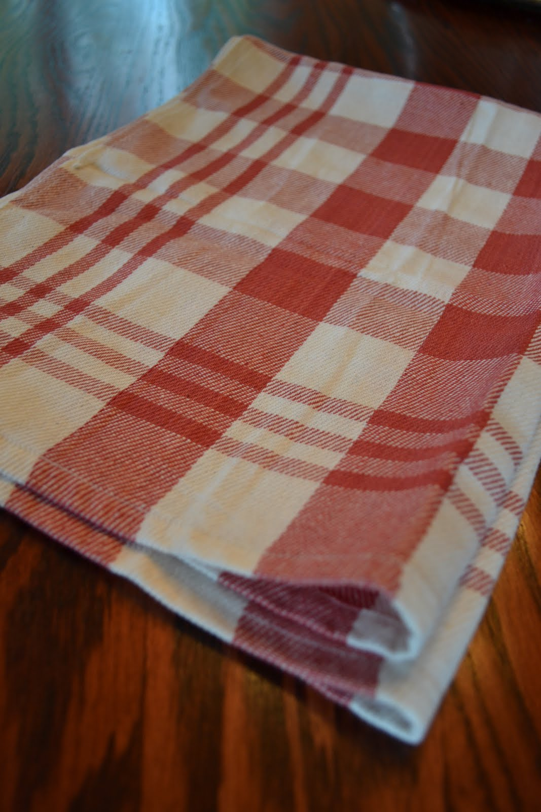 three pixie lane  a military blanket and dish towels repurposed