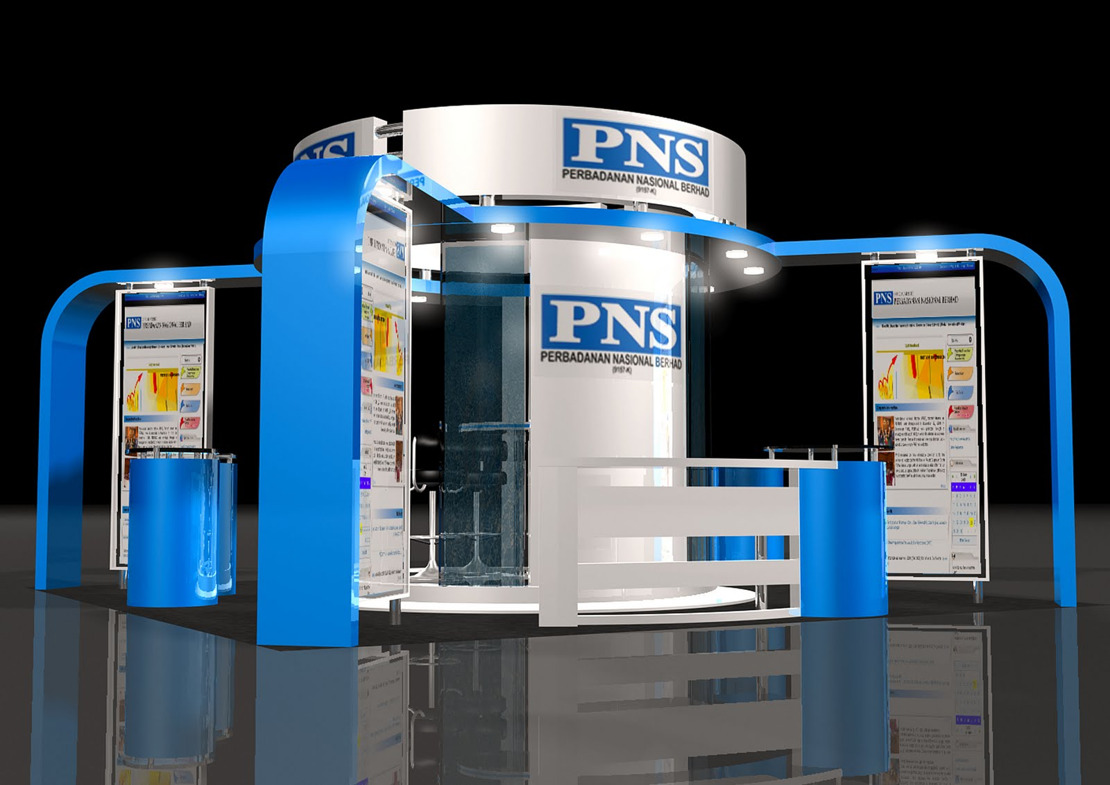 Exhibition Booth In : Deepsrepyh exhibition booth design