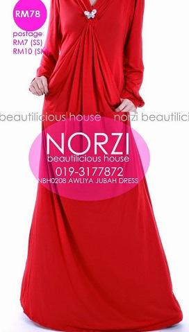 NBH0208 AWLIYA DRESS (MATERNITY FRIENDLY)