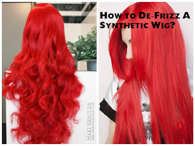 how to use fabric softener on a synthetic wig