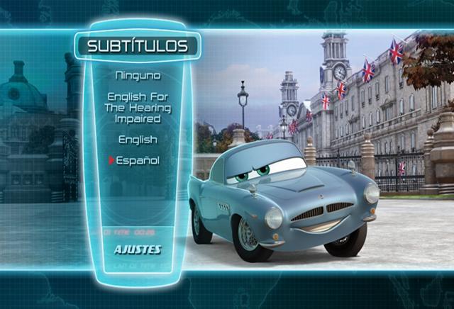 Cars 2 2011 DVDR Menu Full Español Latino NTSC Descargar