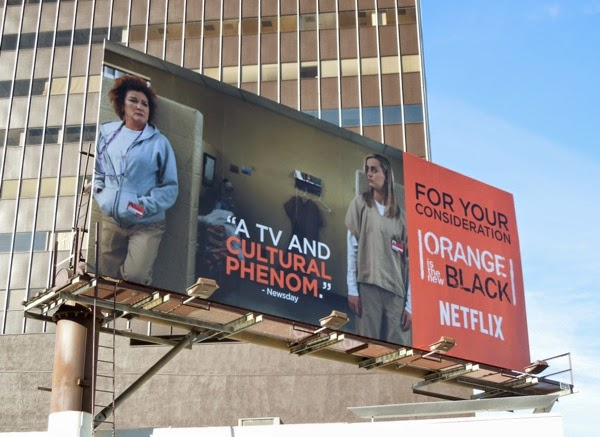 Orange is the New Black season 2 Consideration billboard