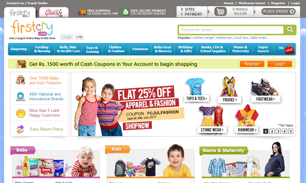 Best kids shopping sites india online shopping guide for Name of online shopping websites