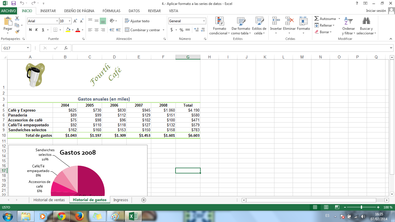 EXCEL: CAPITULO 8