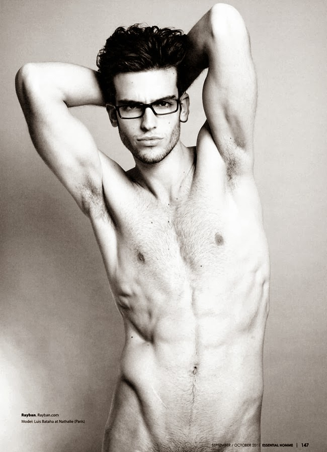 luis in spectacles for essential homme