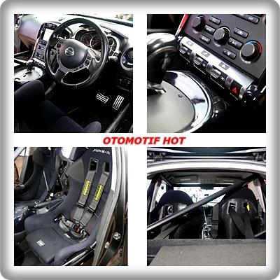 Bagian Interior Mobil Nissan Juke-R