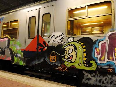 graffiti politique