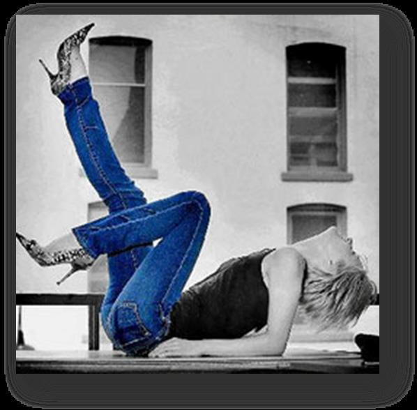 Как сделать джинсы уже в ногах