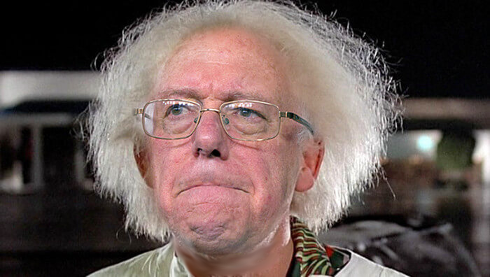 Crazy Bernie's missed opportunity