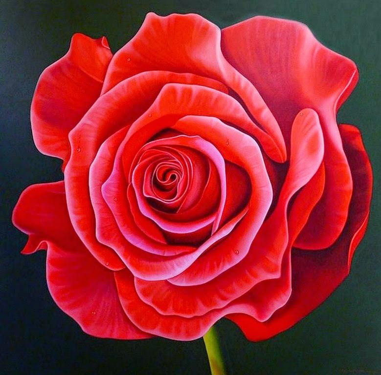 rosas-en-pinturas-realistas