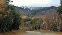 Snow coats Whiteface's upper elevations on October 30.  The Saratoga Skier and Hiker, first-hand accounts of adventures in the Adirondacks and beyond, and Gore Mountain ski blog.