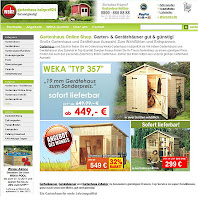 weka-gartenhaus-holzprofi24 shop