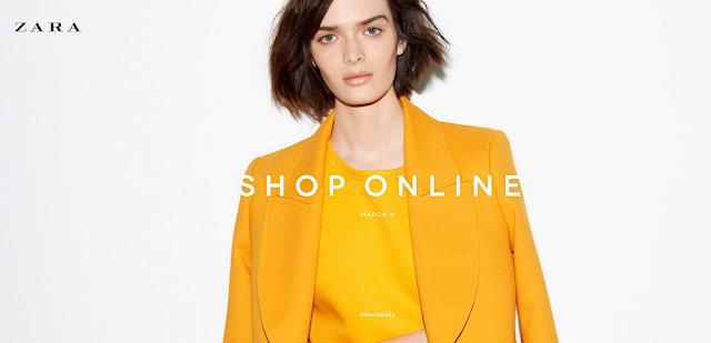Zara, Zara Online, Shopping, dearCanada