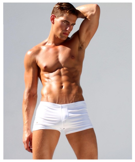 Rufskin Ruf-letic Vault Trunk in white