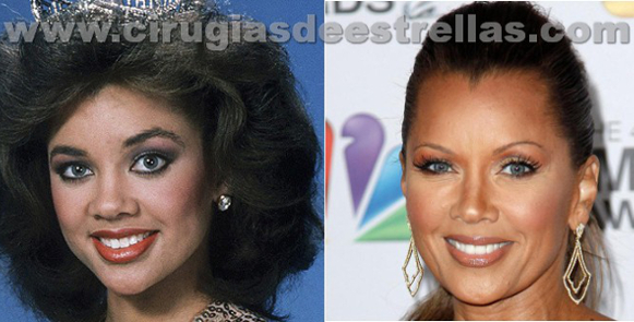 vanessa williams antes y despues