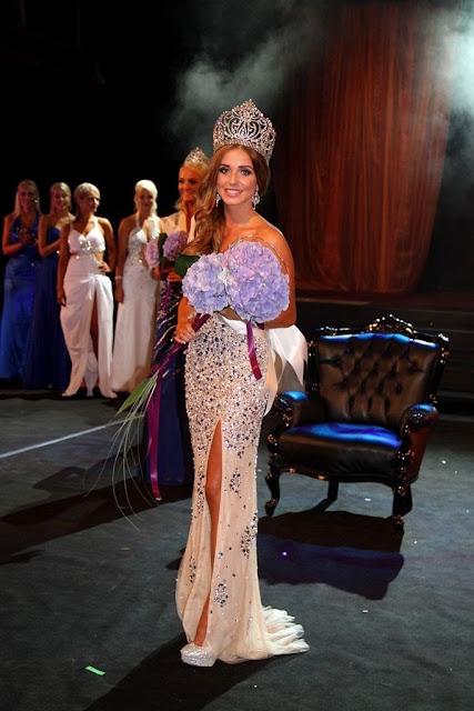 Miss Iceland Ungfru Island 2013 winner Tanja Ýr Ástþórsdóttir