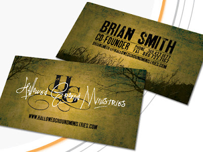Business card printed by GotPrint.com