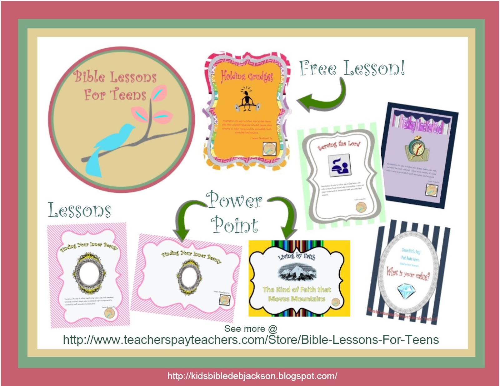 http://www.teacherspayteachers.com/Store/Bible-Lessons-For-Teens