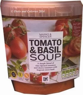 Marks & Spencer Tomato & Basil Soup