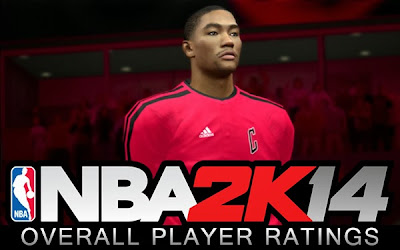 NBA 2K14 Full List of Player Ratings
