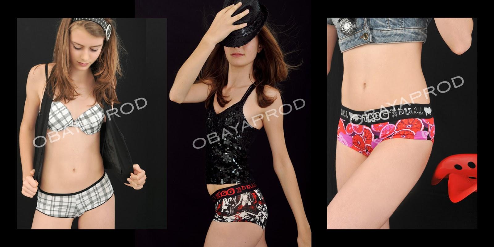 Fête des adolescents ivre en lingerie