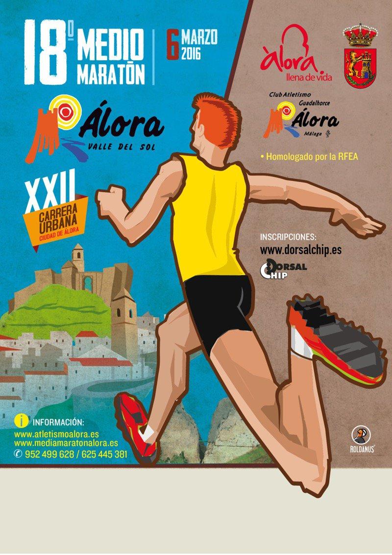 18º. Medio Maratón Álora-Valle del Sol