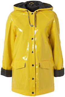 Yellow raincoat love