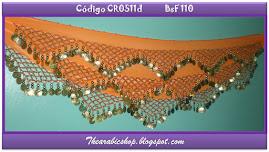 Caderín zig-zag Naranja