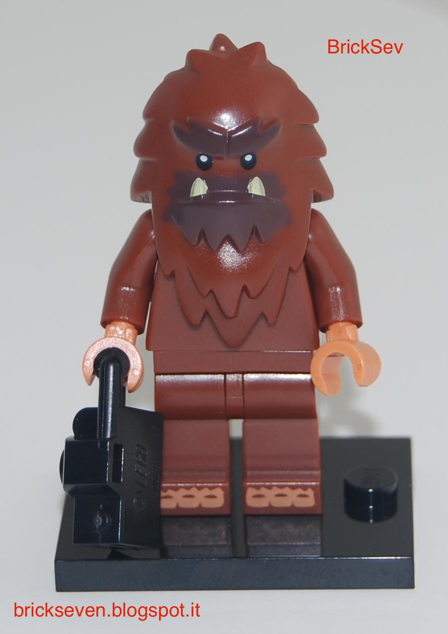 Bigfoot NEW LEGO MINIFIGURES SERIES 14 71010 Square Foot