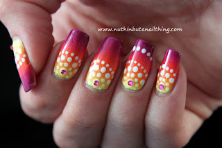 Barry M Limited Edition Yellow, Barry M Mango, Sinful Colors Timbleberry and Sinful Colors Fig