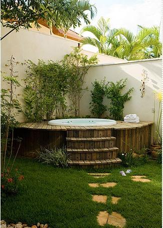 Quintal pra que te quero casas poss veis for Pintado de piscinas