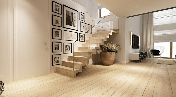 I Also Like The Idea Of Having The Existing Staircase Risers Painted, An  Amazing Metal Railing U0026 Spindles U0026 Having The Treads Match The New Walnut  Floors.