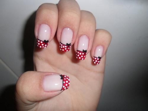 Todos Aman a Pepina: Uñas decoradas: Diseños de Minnie Mouse!!