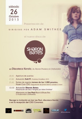 Sharon Bates presentancion disco DISCOTECA KERALA