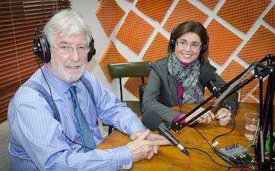Gonzalo Burgos y Susana Fernández en La Odisea de Emprender