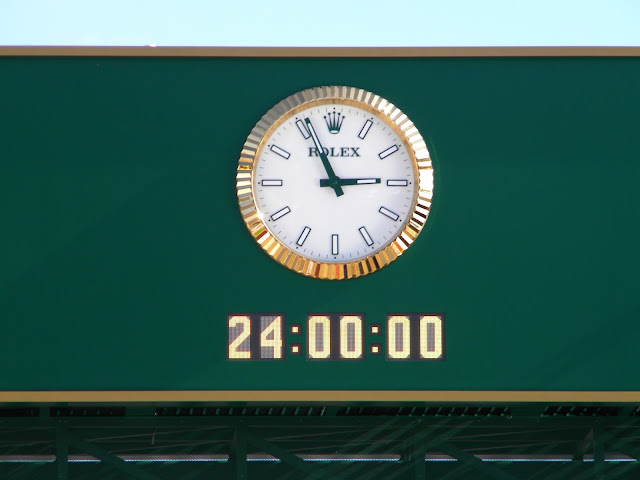 Rolex 24 official clock