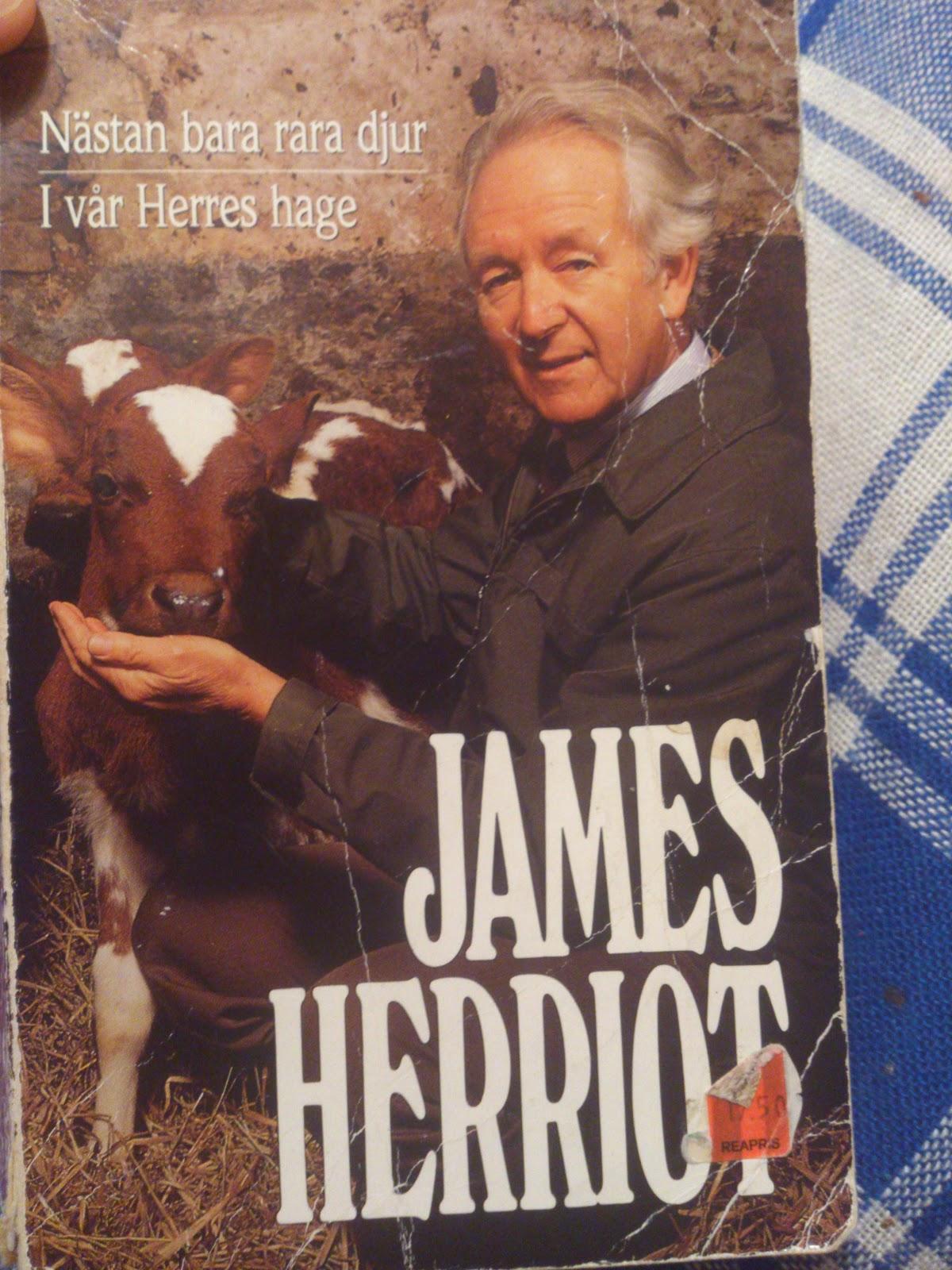 Hedvigs bokhylla Nästan bara rara djur av James Herriot