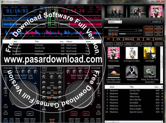 Free Download E-mix Pro Edition 5.7.0.0 Full Patch