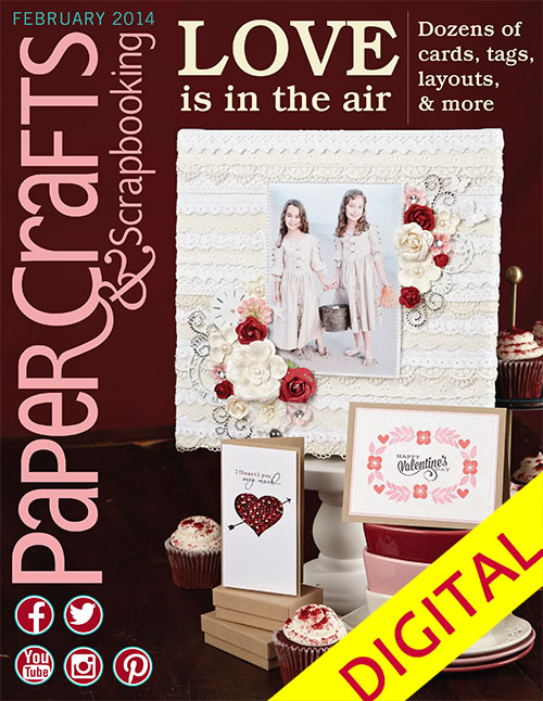 Paper Crafts & Scrapbooking Feb 2014