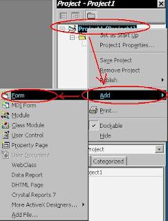 Membuat Efek Loading Pada Program Visual Basic 6.0 Saat Di Running