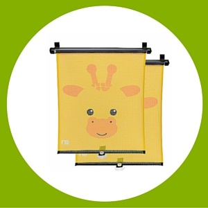 Mothercare baby giraffe window sun shade