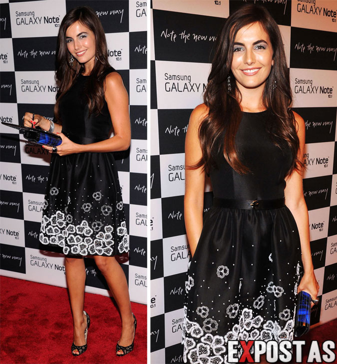 Camilla Belle: Samsung Galaxy Note 10.1 Launch Event em New York - 15 de Agosto de 2012