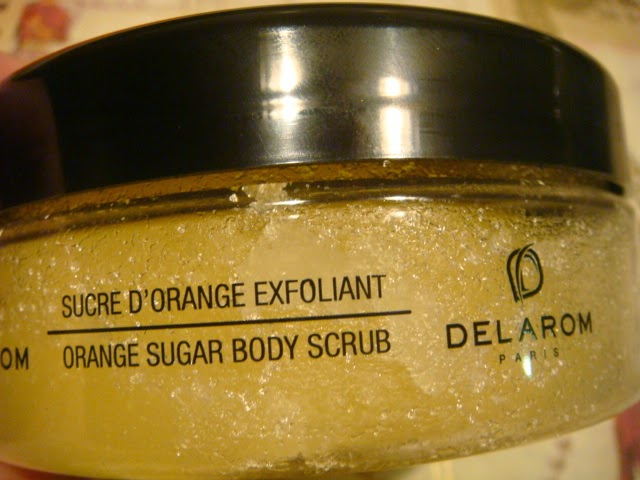 Azúcar exfoliante a la Naranja DELAROM