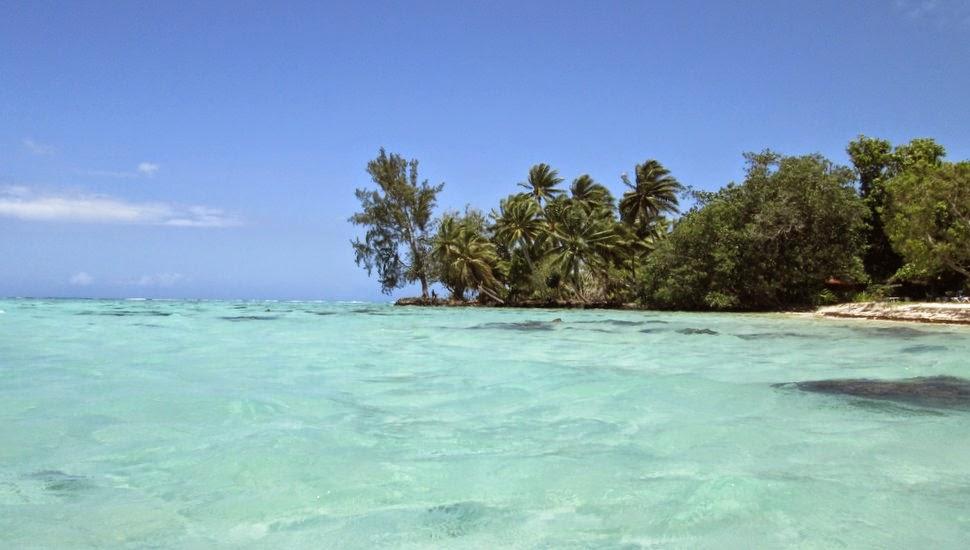 Moorea en Polynésie - Le lagon