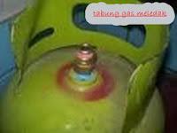 tabung gas meledak