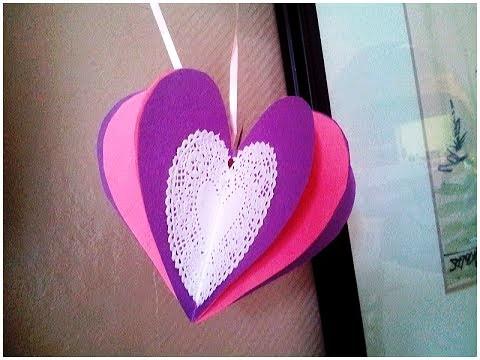 Simple 3d paper craft