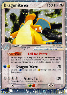 Dragonite ex Pokemon Card EX Dragon Set