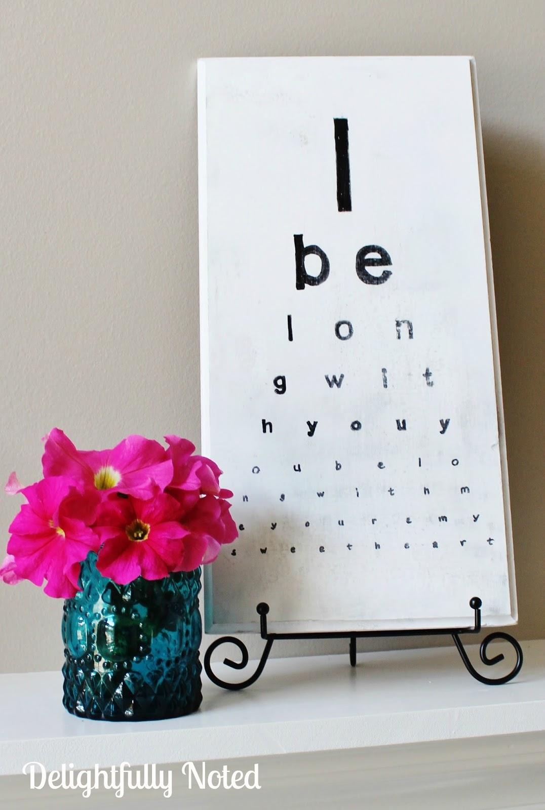 DIY-eye-chart