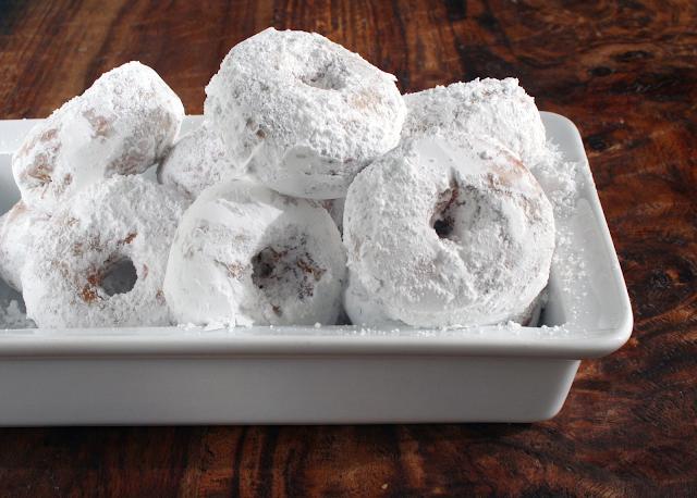 How to Make Powdered Sugar Cake Donuts